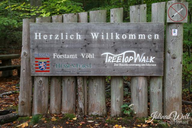 TreetopWalk Edersee Schild