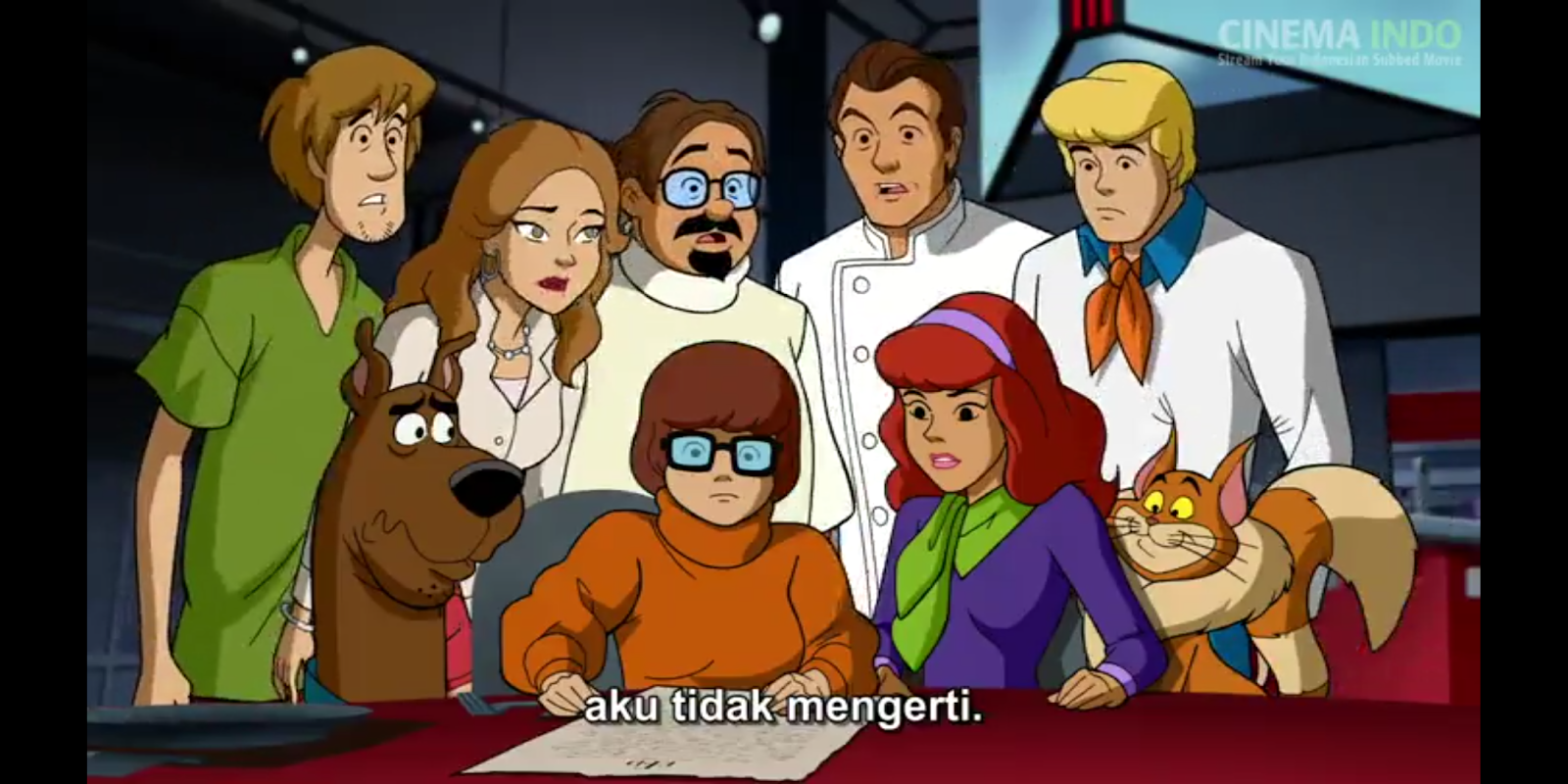 nonton scooby doo and the gourmet ghost 2018 subtitle indonesia