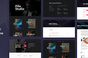 [Themeidn] Filix v1.2.5 - Creative Minimal Portfolio WordPress Theme