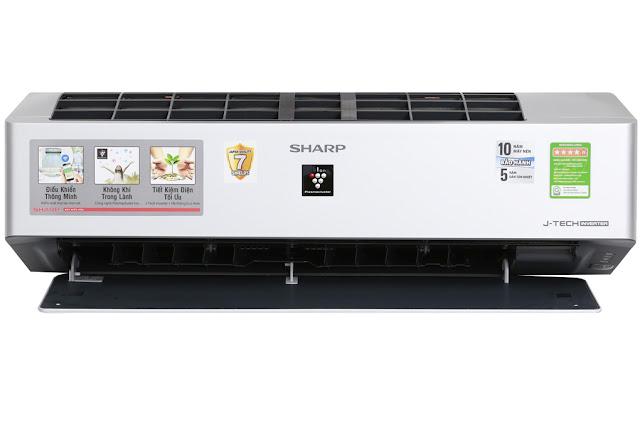 Điều hòa Sharp Inverter Wifi 1.5 HP AH-XP13VXW