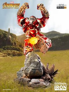 "Figuras: Abierto pre-order de Hulkbuster: Battle Diorama Series de ""Avengers: Infinity War"" - Iron Studios"