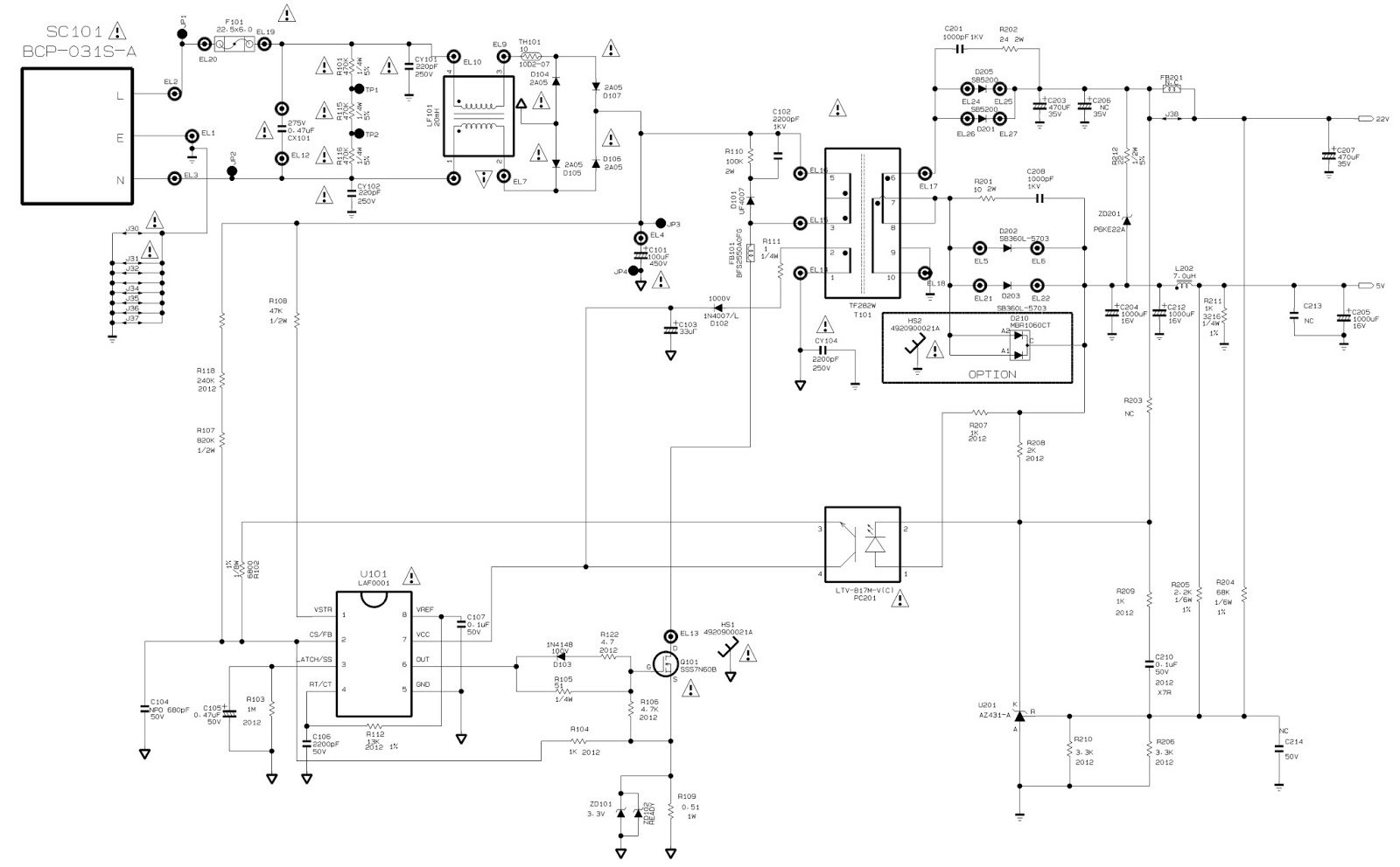 Electro Help  Lg Flatron W2243c - Service Mode