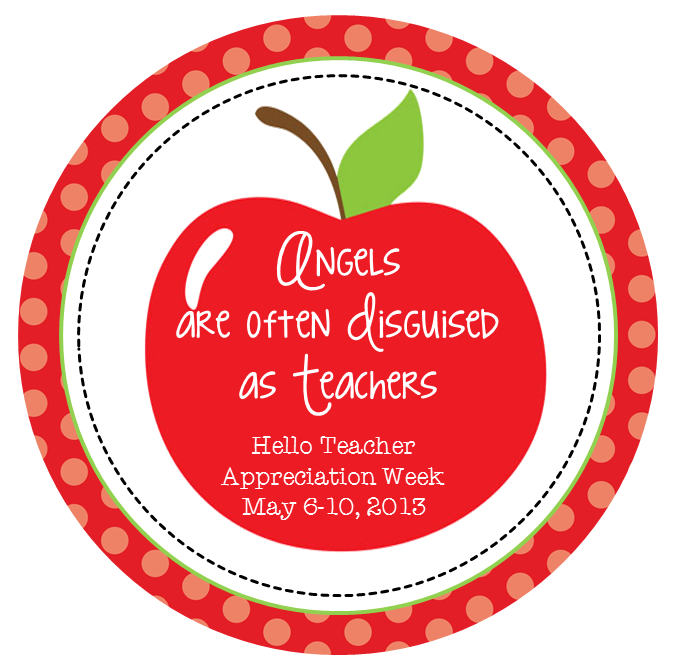 Happy happy teachers appreciation week thankateacher hello hello teacher appreciation week first of all let me start off by saying i hope this week you feel the love for everything you do on a daily sciox Images