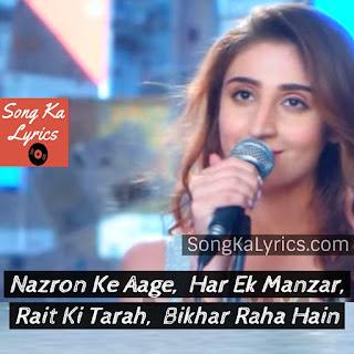 dhvani-bhanushali-song-quotes-bekhayali