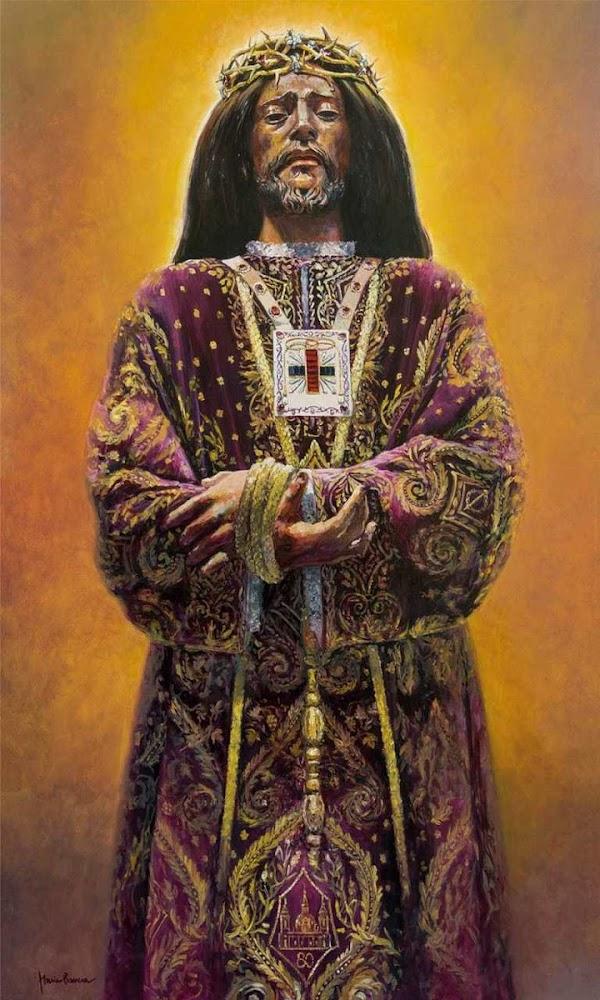 Cartel de la salida extraordinaria del Santísimo Cristo de Medinaceli de Madrid