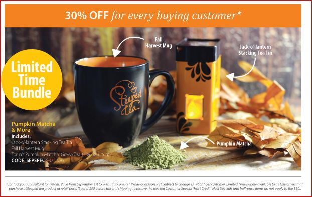 Pumpkin Matcha & More bundle: 30% OFF for every buying customer*