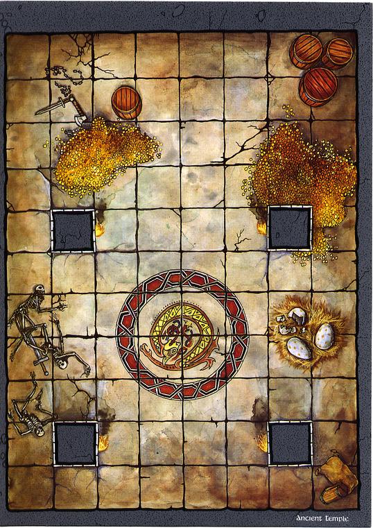 Free Dungeon Tiles To Print: Dungeon Floor Plans 80's