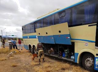 Cipe realiza operações em ônibus