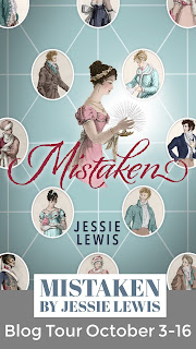 Blog Tour - Mistaken by Jessie Lewis
