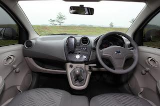 Tampilan Interior Mobil Datsun GO + Panca