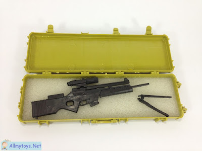 4D plastic 1:6 model toy gun SL8 4