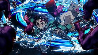 鬼滅の刃アニメ 劇場版 無限列車編 | 竈門炭治郎 水の呼吸 | Demon Slayer Mugen Train