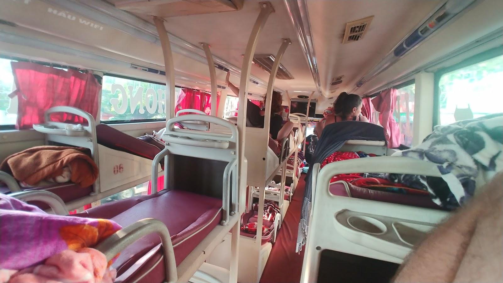 autobus sypialniany Wietnam