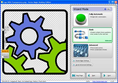 Download Vector Magic 1.14