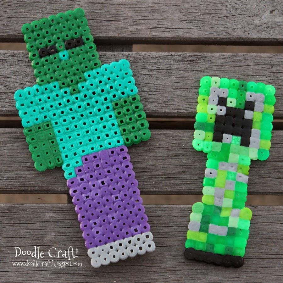 Hama Beads Minecraft T
