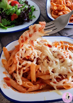 Tomato & Chilli Pasta Bake recipe slimming world
