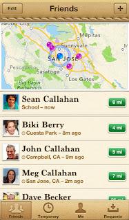 44a50793be Trova i miei amici; l'app ufficiale di Apple si aggiorna alla vers 2.1