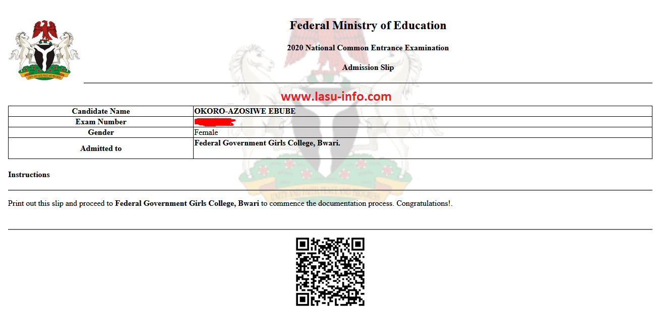 Federal Unity College NCEE Admission List Checker 2020/2021