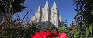The Salt Lake Temple, at Temple Square, is shown Friday, Oct. 4, 2019, in Salt Lake City.