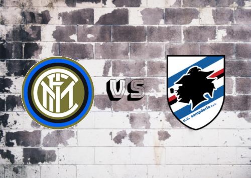 Internazionale vs Sampdoria  Resumen y Partido Completo