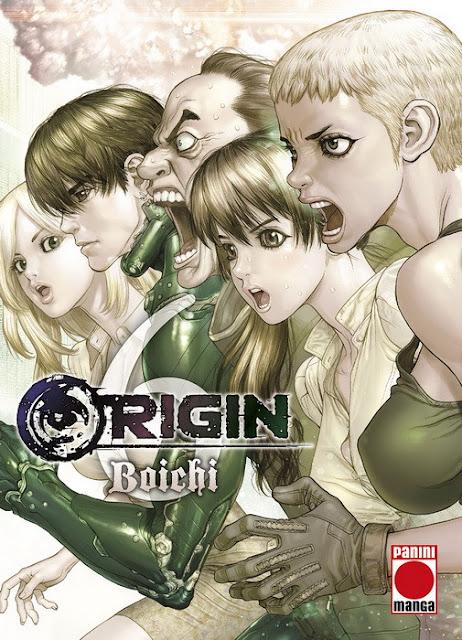 """Reseña de """"Origin"""" vol. 6 de Boichi - Panini Comics"""