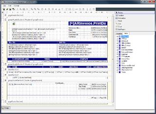Acumatica Report Designer