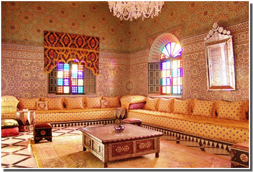 Decor De Salle De Bain Marocaine