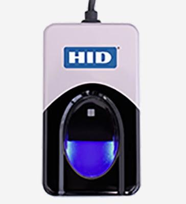 Lector de huellas dactilares DigitalPersona 4500 de HID u are u