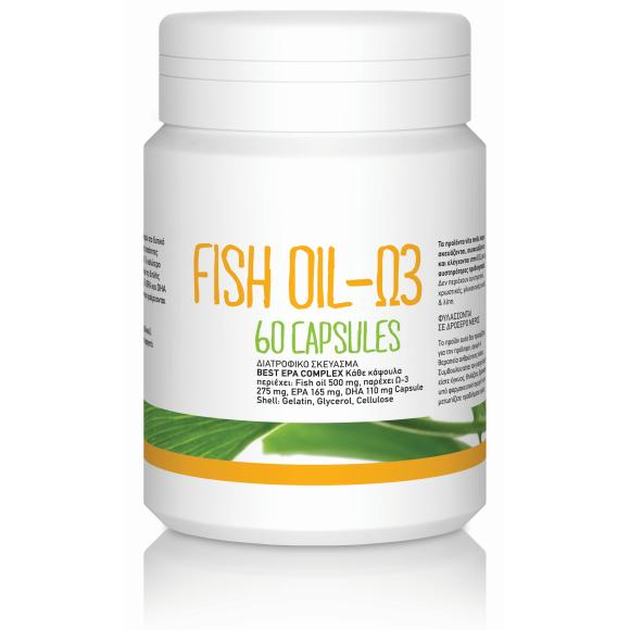 Ω3 Fish Oil (BEST EPA COMPLEX) (60softgels/500mg)