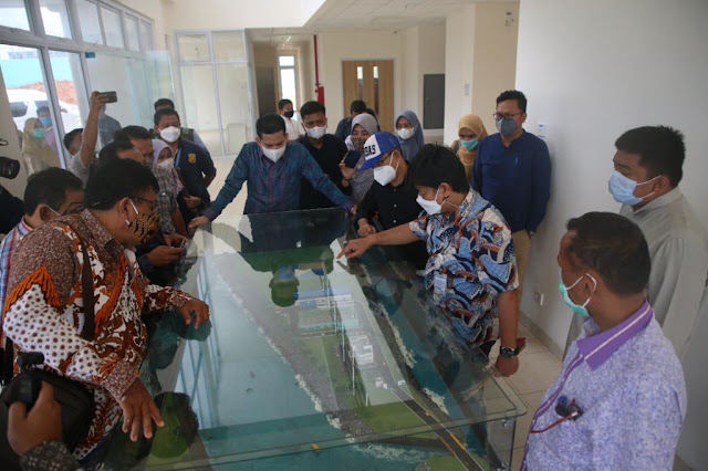 Pansus DPRD Bengkalis Studi Banding ke BP Batam Untuk Mempelajari Pengelolaan Limbah Domestik