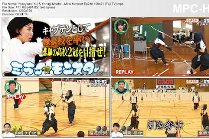 Yokoyama Yui & Yahagi Moeka - Mirai Monster Ep248 190421 (Fuji TV)