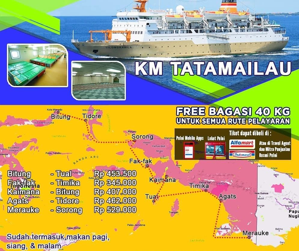 Jadwal Kapal Pelni Surabaya Ambon Bulan September