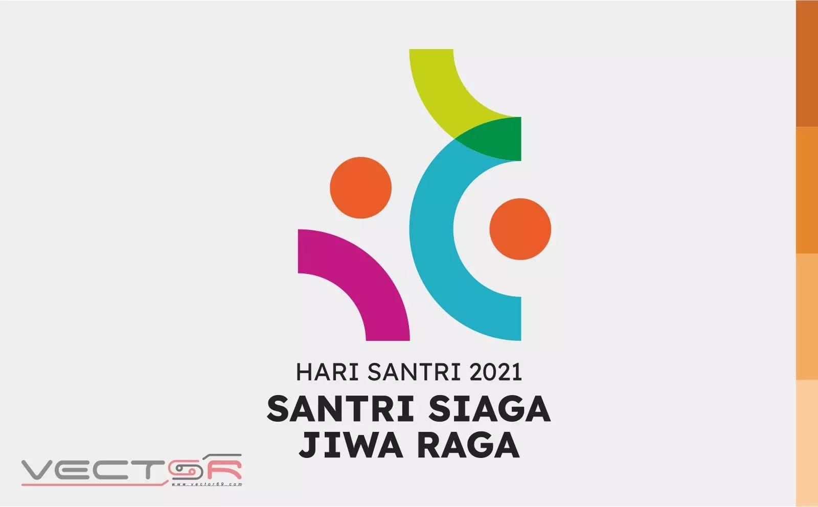 HSN (Hari Santri Nasional) 2021 Kemenag RI Logo - Download Vector File AI (Adobe Illustrator)