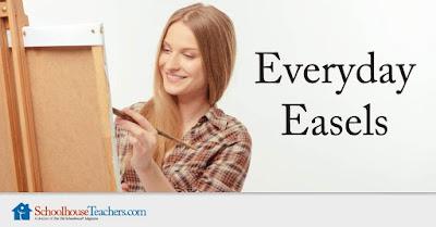 Everyday Easels art lessons at SchoolhouseTeachers.com