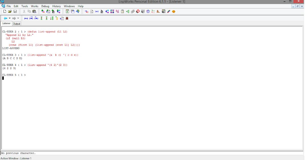 Rahul Kumar Saurabh: A Recursive LISP function which appends