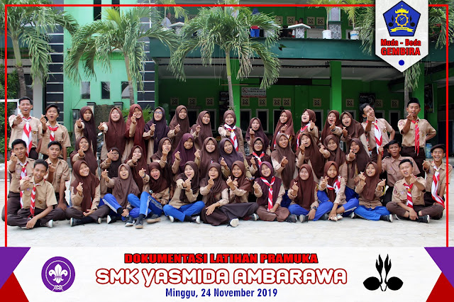 News Pramuka SMK Yasmida Angkatan 12 Lebih dari 30 Peserta