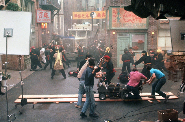 Golpe en la Pequeña China detrás de las cámaras