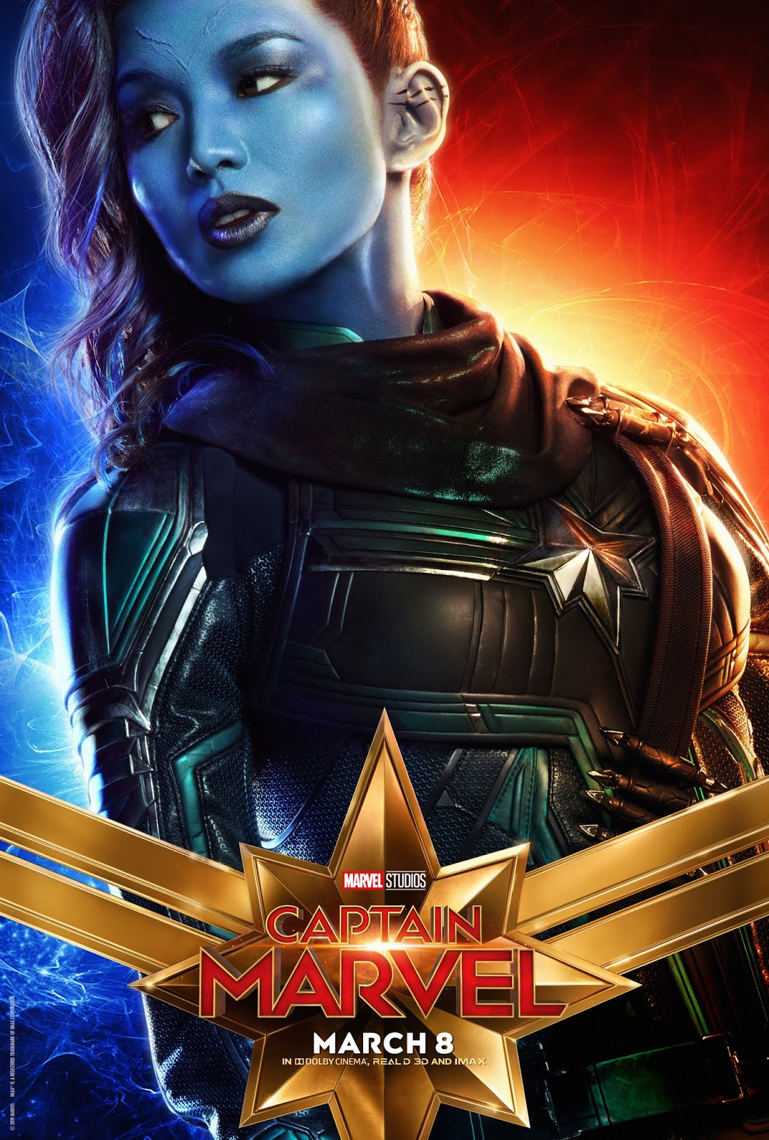 CAPTAIN MARVEL Character Posters - sandwichjohnfilms