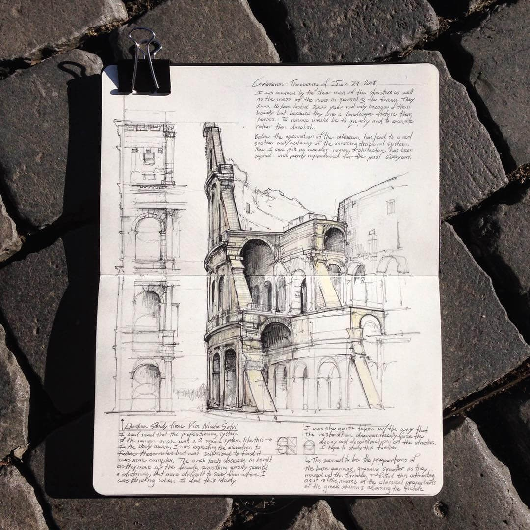 02-Colosseum-Jerome-Tryon-Moleskine-Book-with-Sketches-and-Notes-www-designstack-co