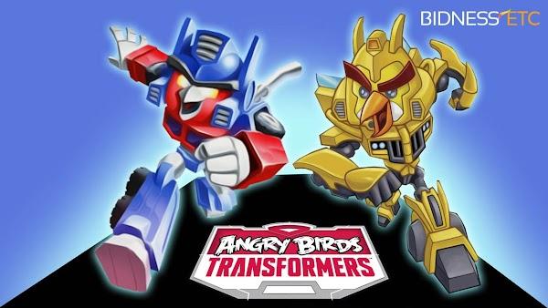 Angry Birds Transformers v1.40.0 [Mod Money/Unlock] APK+ OBB