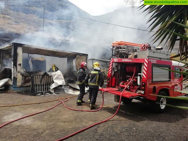 Un conato de incendio ha sido sofocado hoy en La Fajana de Barlovento