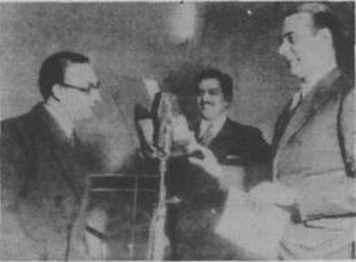 Edgardo Donato en Radio La Voz del Aire en 1936