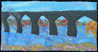 52 Ways to Look at the River, week 18 panel, by Sue Reno