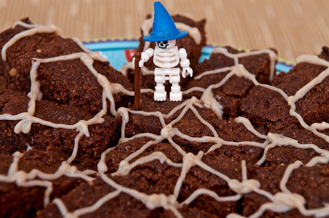 Chocolat - chocolate - cooking - cuisine - peanut butter brownie - dakatine - Halloween - brownie - cacahuète - dessert - gâteau