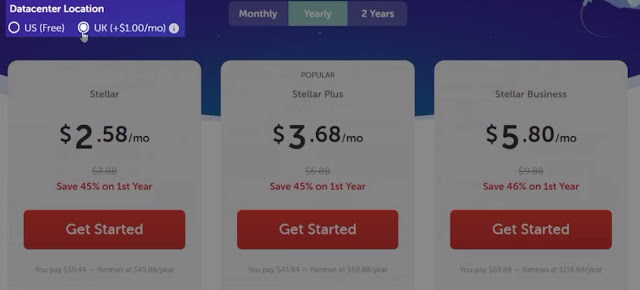 uk data center plans and pricing of namecheap