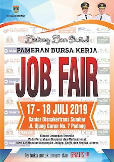 Job Fair Padang 2019