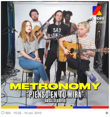 Metronomy cantando Rosalía é a melhor coisa que você vai escutar esta semana