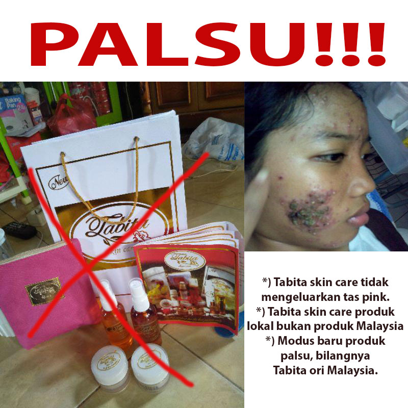 Ciri Tabita Skin Care Trial Set Asli