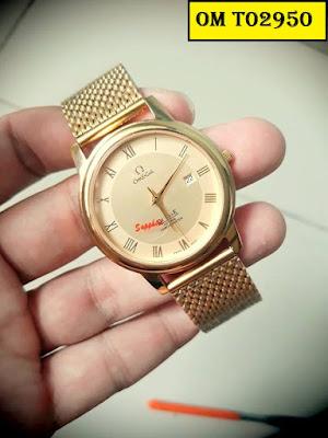Đồng hồ dây lưới Omega T02950