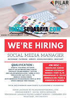 We're Hiring at Pilar Garment Surabaya Terbaru November 2019